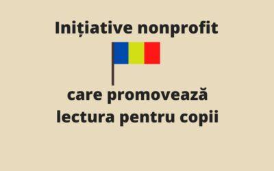 Inițiative nonprofit care promovează lectura pentru copii în România
