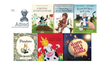 [3-7 ani] 7 cărți ilustrate minunate recomandate de librarul nostru preferat