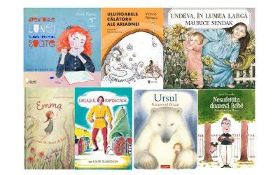 7 cărți pentru copii cu personaje feminine deosebite, publicate în 2020