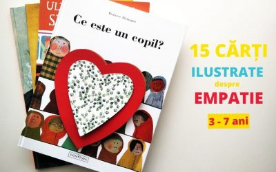 15 cărți care vorbesc despre empatie copiilor [3-7 ani]